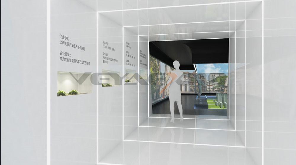 绿驰科技馆展厅设计-5