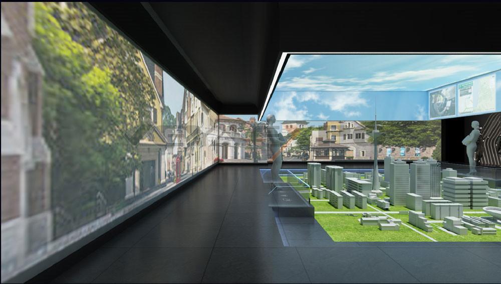 绿驰科技馆展厅设计-6