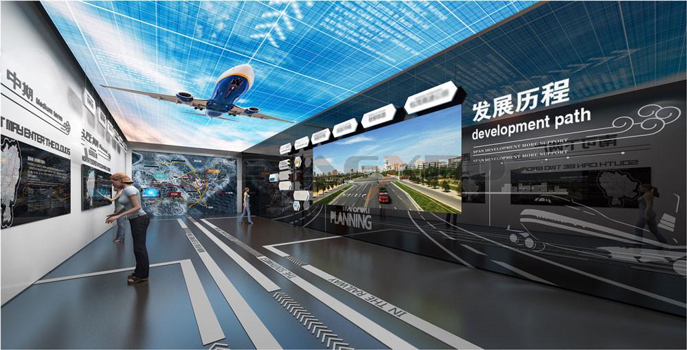 无人机展馆设计-2