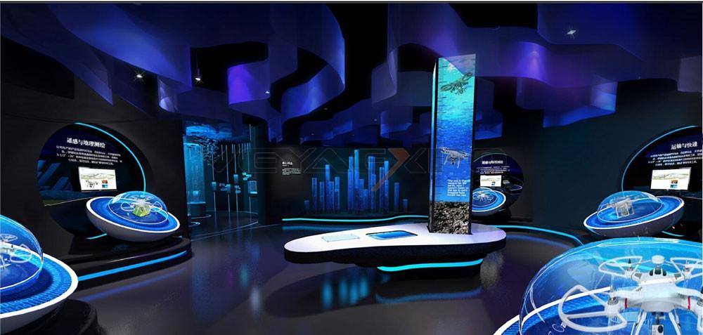无人机展馆设计-7