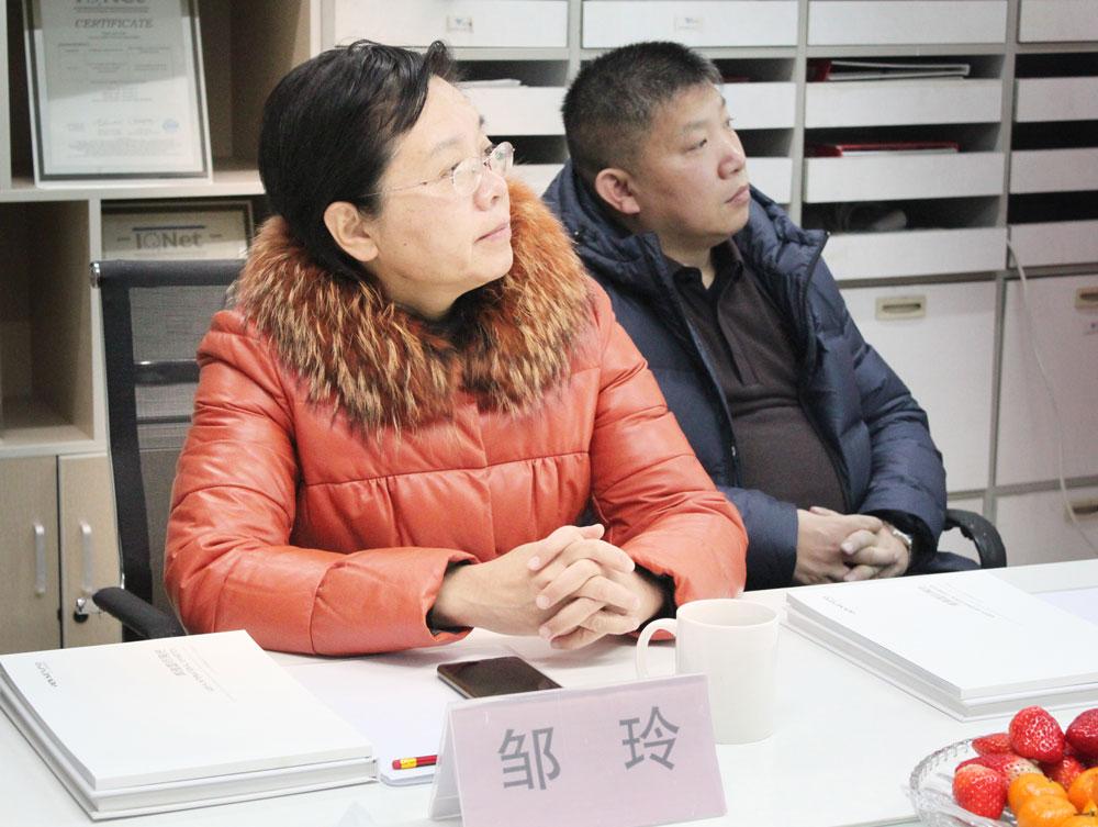 市農村農業局副局長鄒玲聽取匯報