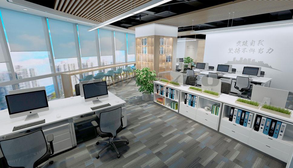 展厅设计-开放办公区