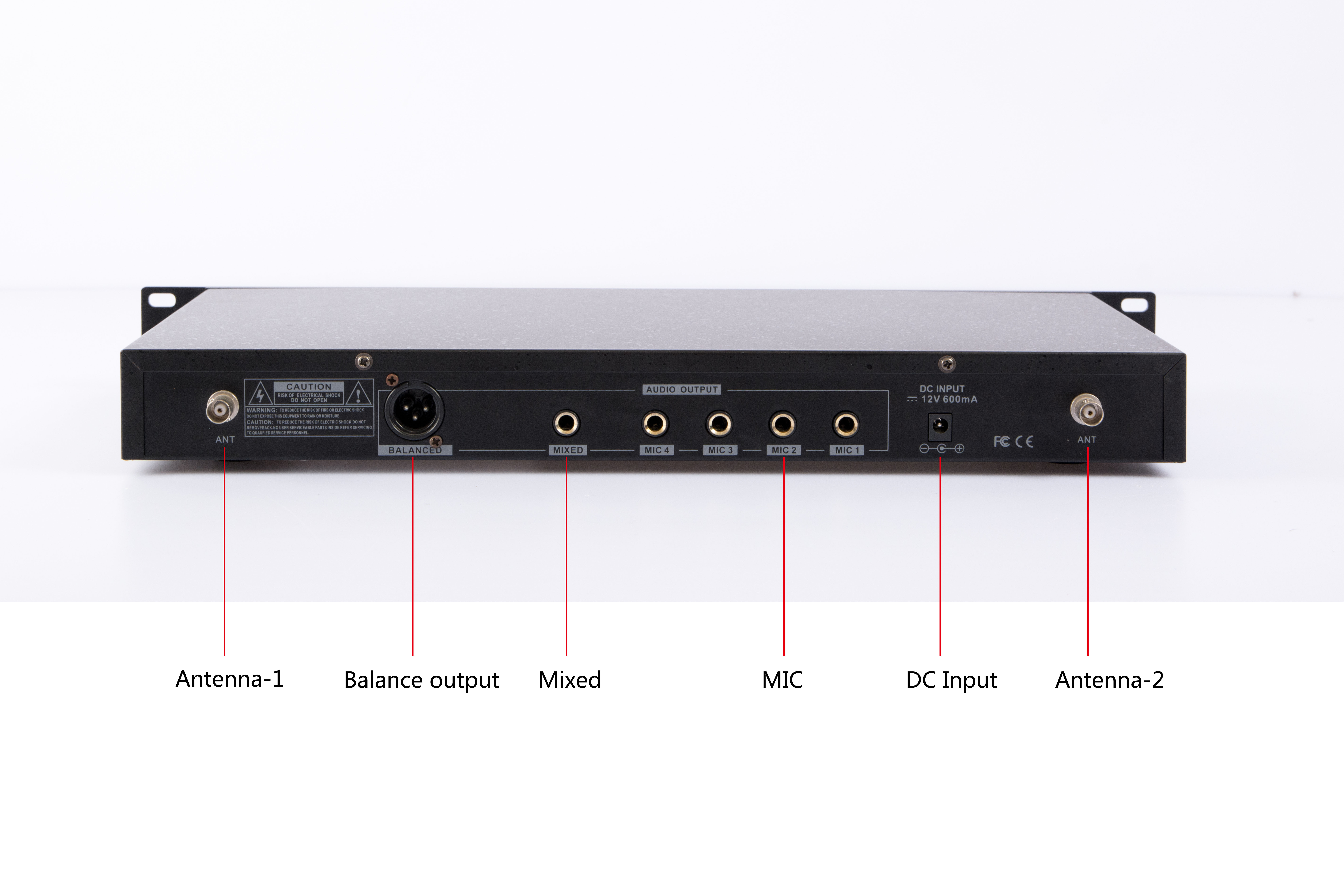 DSP-8400背面