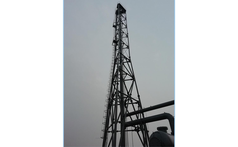 山西华鑫煤焦集团200-万吨焦化项目焦炉煤气放散装置