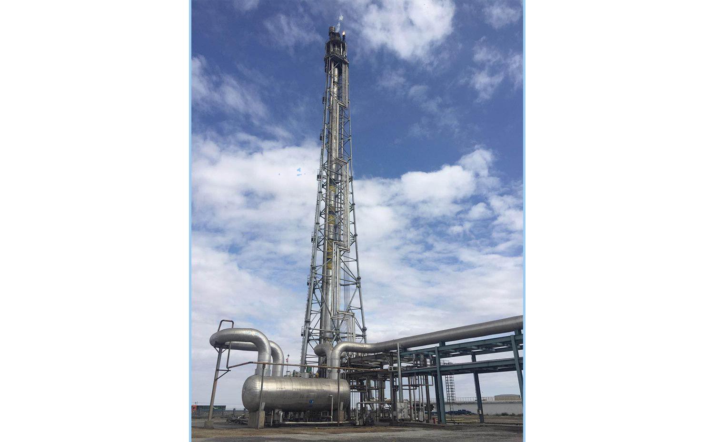 中石化沧州炼油厂火炬系统