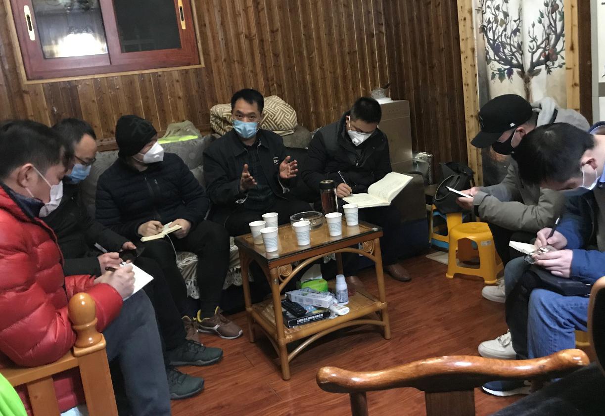 20200204现代物流集团、贵州蔬菜集团领导指导部署疫情期间省内蔬菜保供及向重疫情区捐赠蔬菜的相关工作-图片1