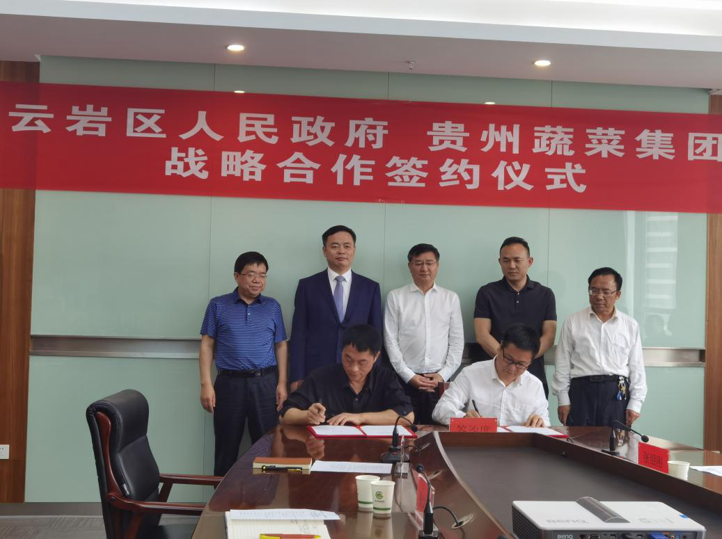 20200531贵阳市云岩区政府贵州蔬菜集团签署新闻稿-图片1