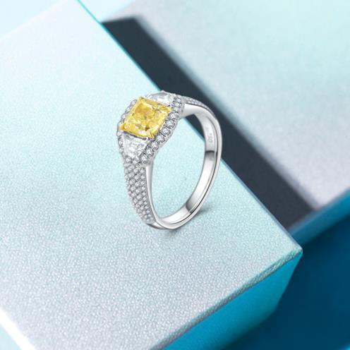 为啥女生都喜欢18k金钻石戒指-1-