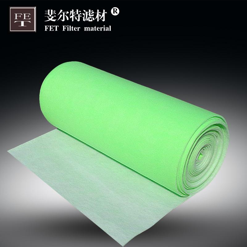 过滤棉-绿白棉