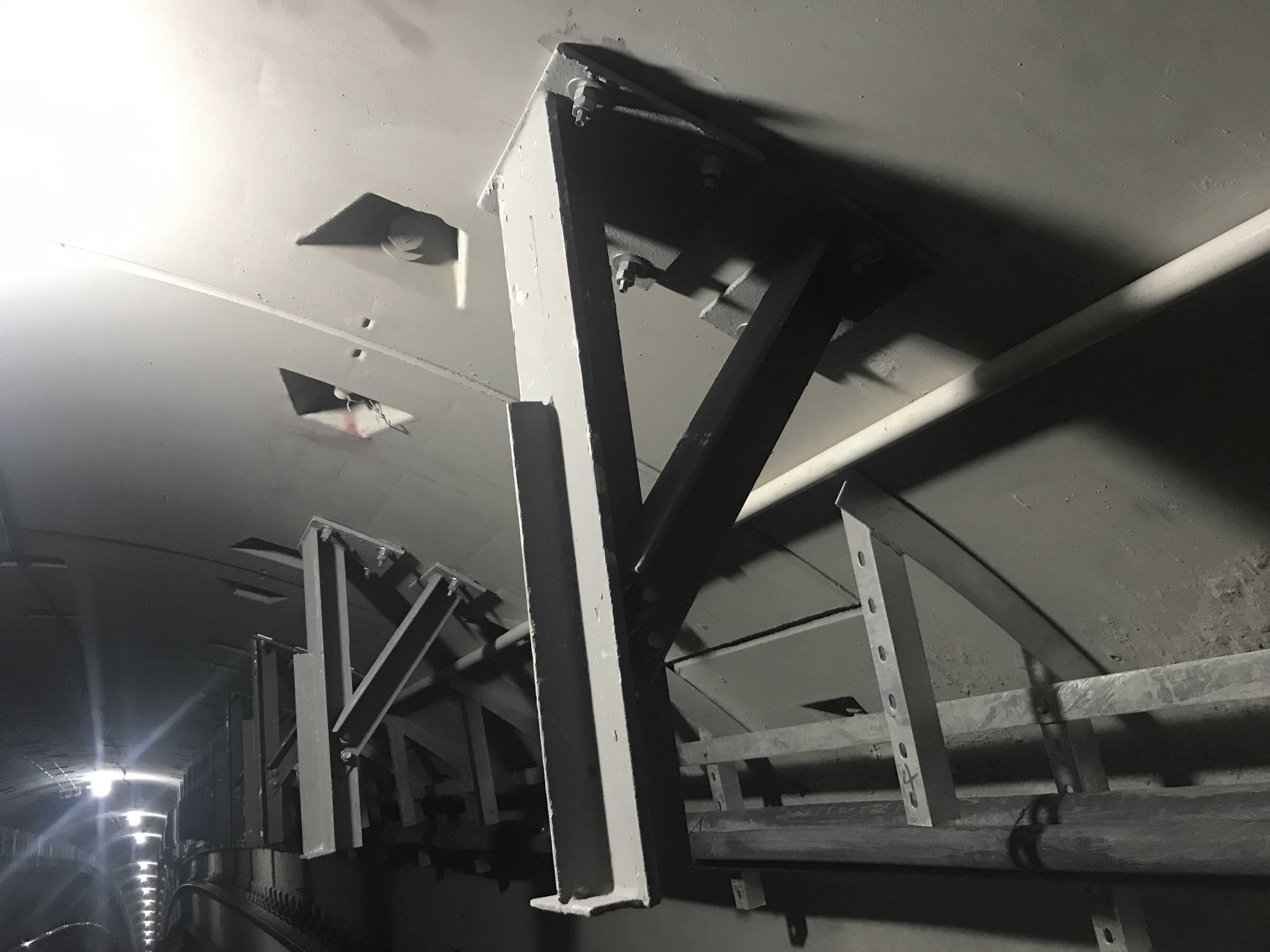 疏散平臺鋼支架