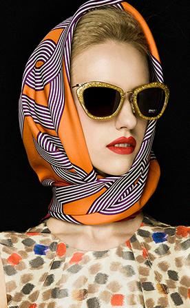 波点艺术化妆造型作品图片