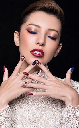知性女装化妆造型作品