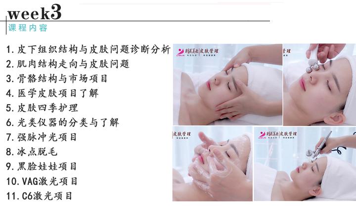 皮肤管理综合班课程内容3