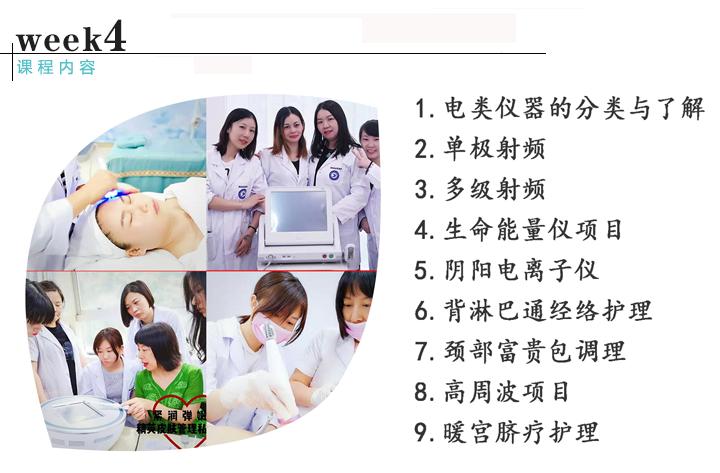 皮肤管理综合班课程内容4