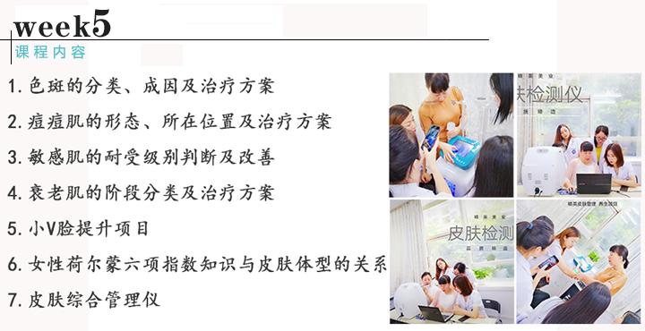 皮肤管理综合班课程内容5