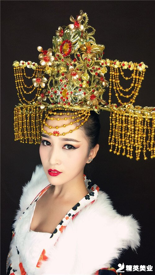 杨贵妃妆容造型2