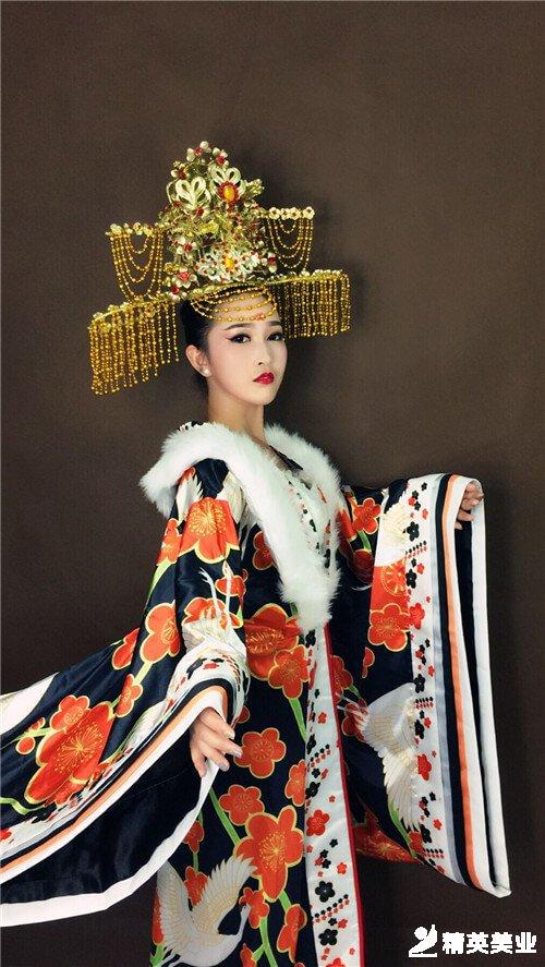 楊貴妃妝容造型3