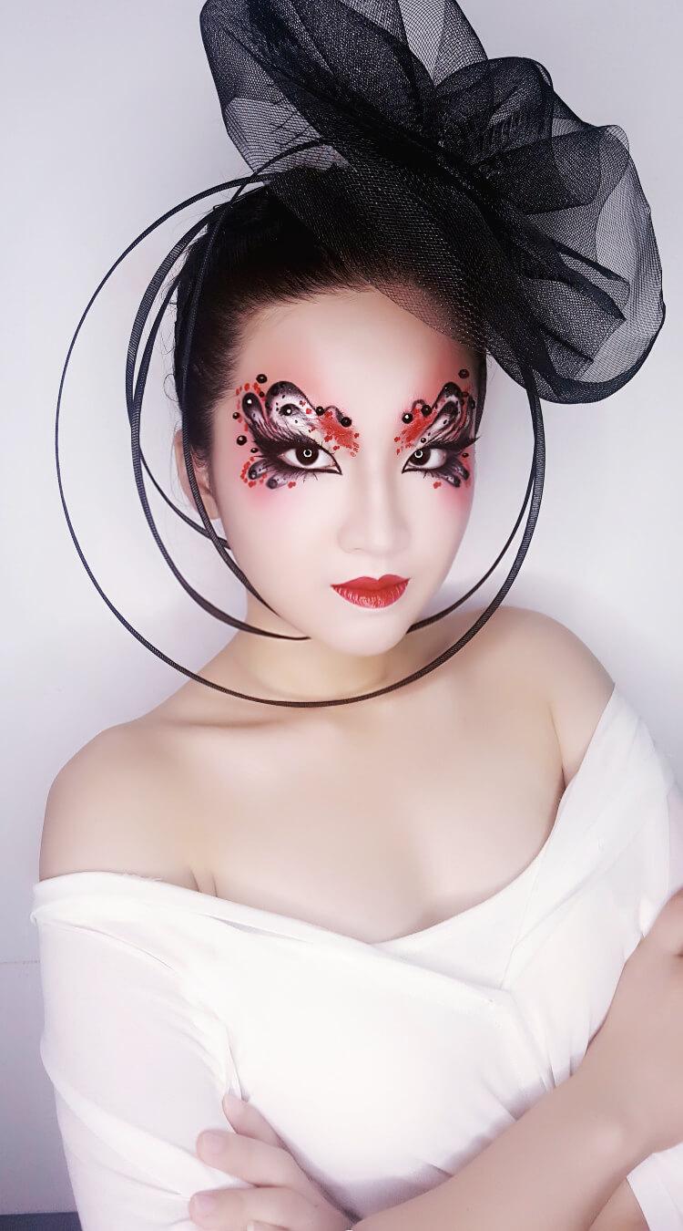 精英化妆学校时尚化妆,化妆系列作品2