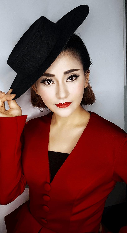 精英化妆学校时尚化妆,化妆系列作品3
