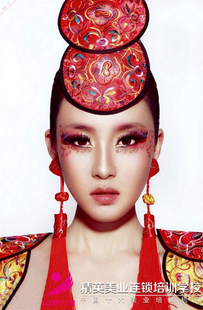 铃兰,化妆作品