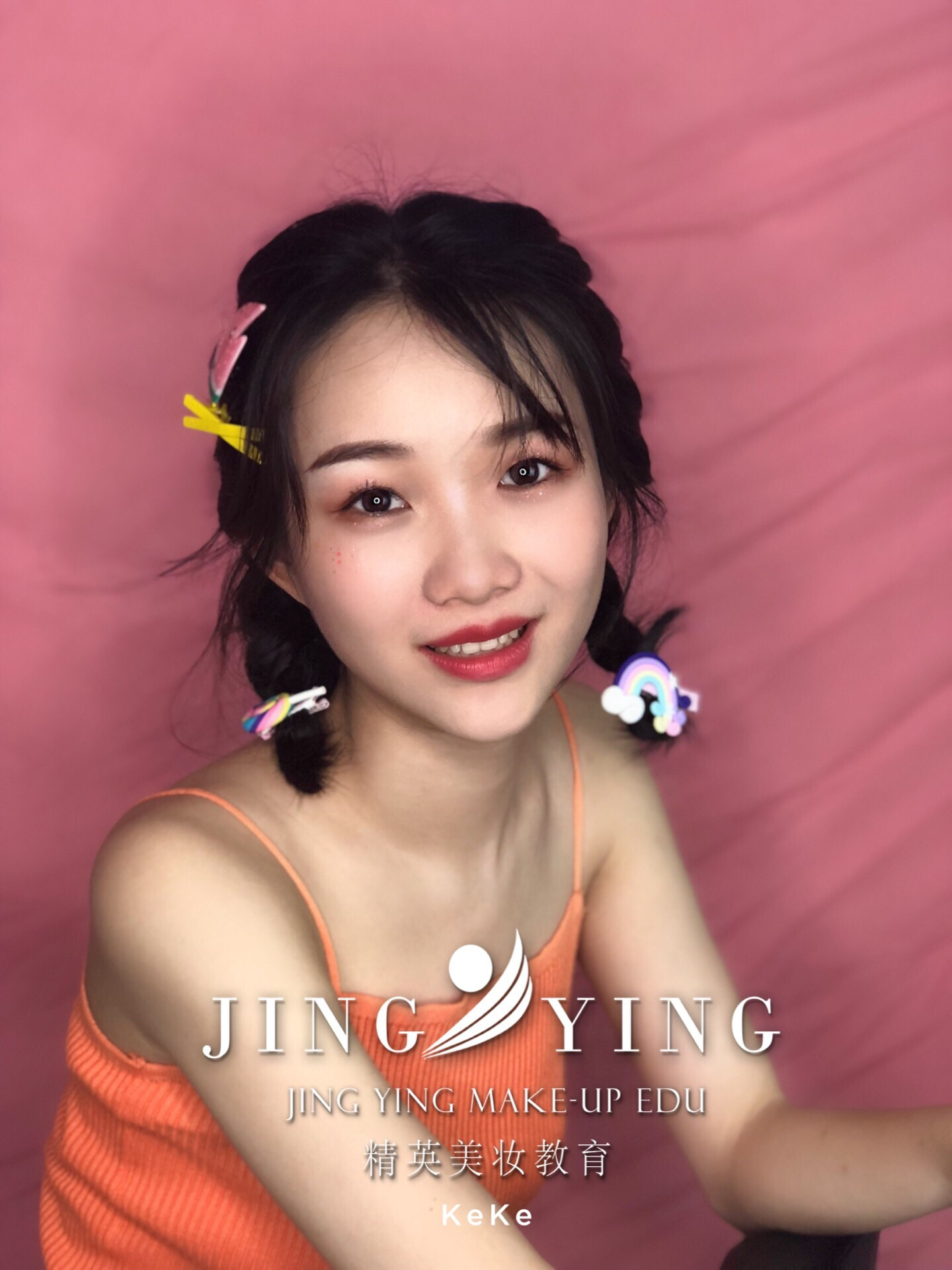 少女妆容造型化妆作品图片
