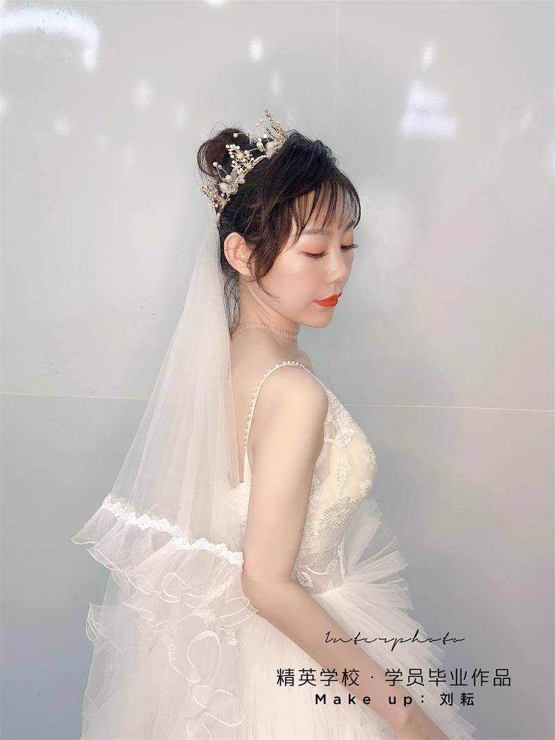 深圳化妝學校精英化妝學校6月畢業學員畢業作品