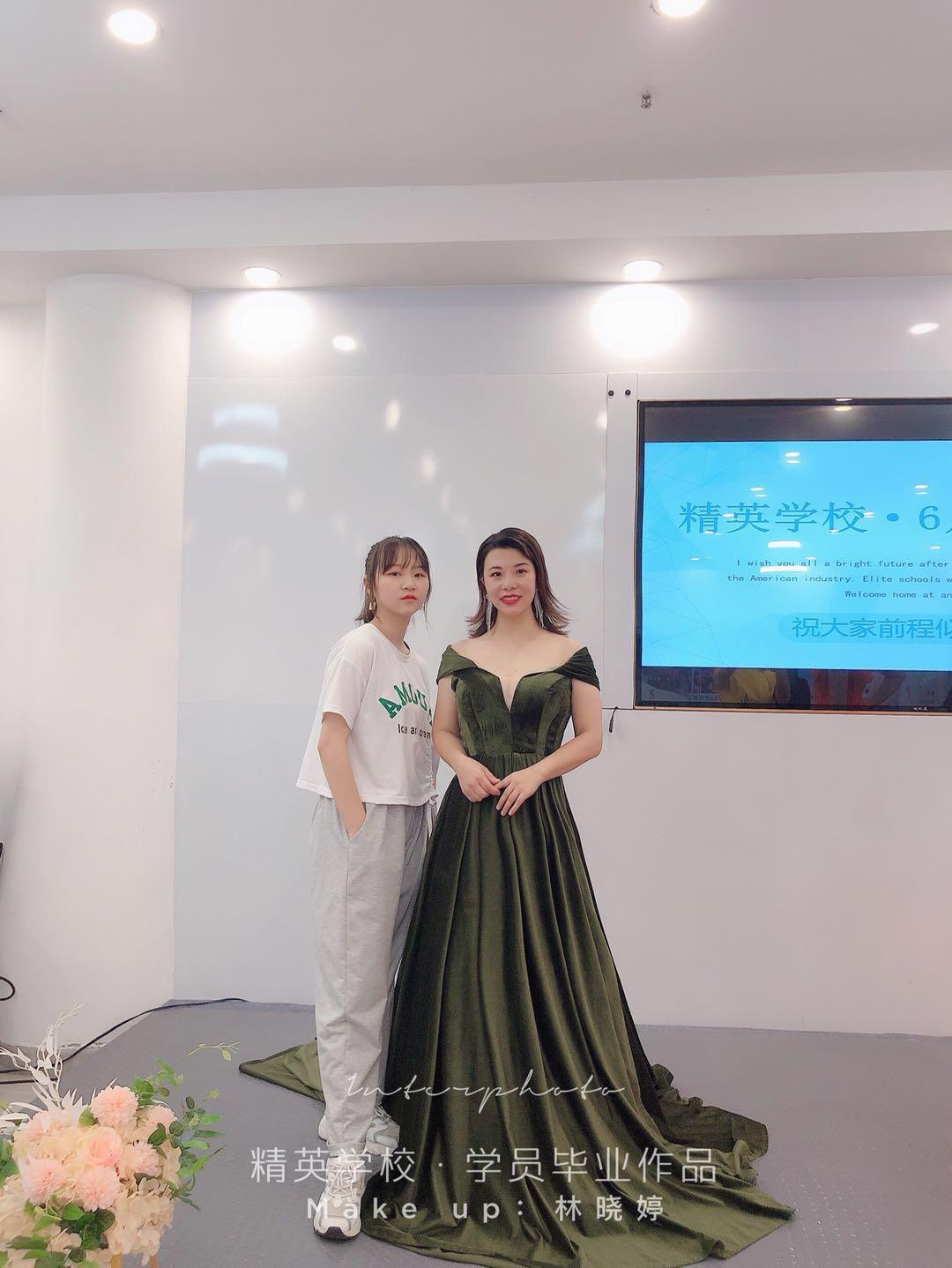 深圳化妝學校精英化妝學校6月畢業學員畢業作品圖片13