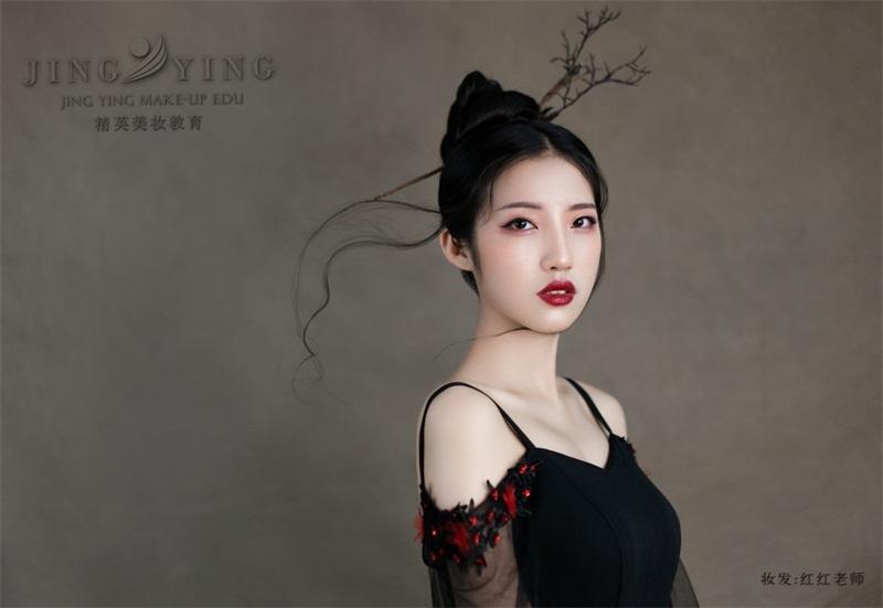 国潮轻古风化妆作品2