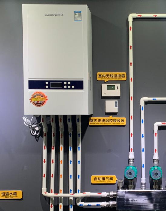 荣事达壁挂炉水循环系统示意图