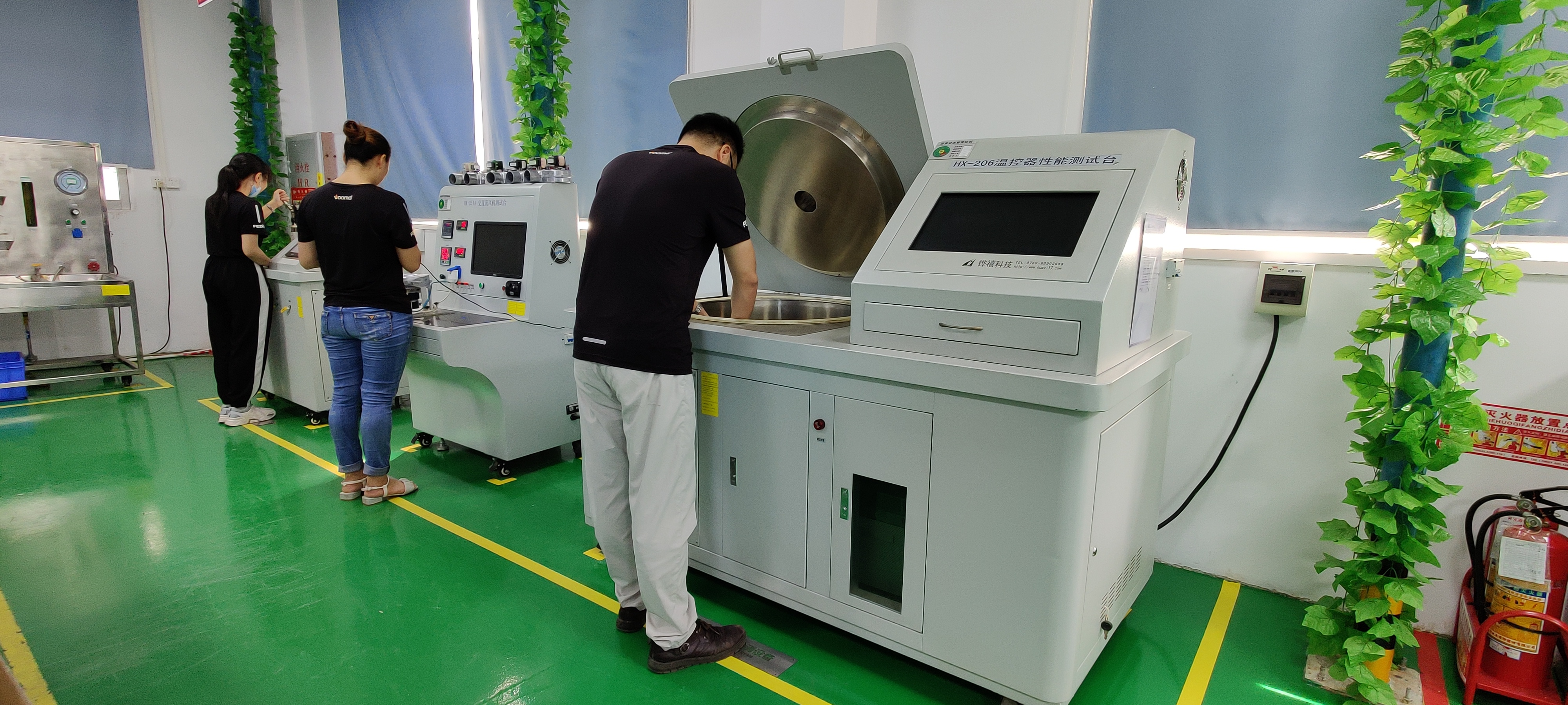 国家燃气供热专业委员会亲临荣事达壁挂炉生产车间实地考察!
