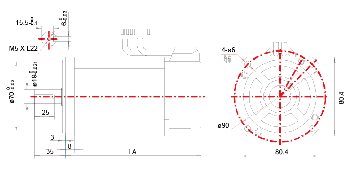 80B系列电机技术参数