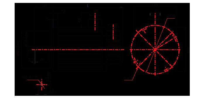 110系列电机技术参数