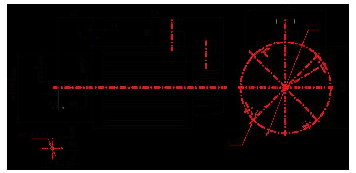 130(AC380V)系列电机技术参数