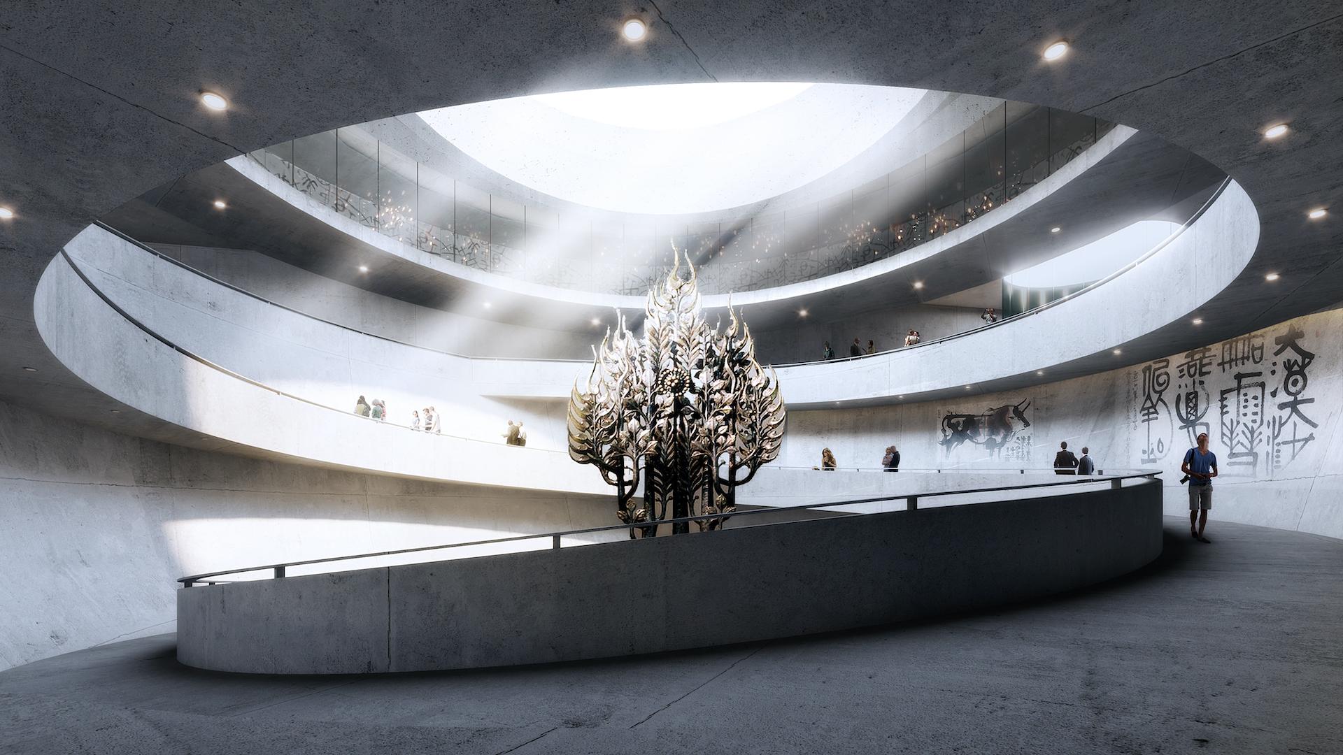 百事3中标通州梨园美术馆方案设计项目