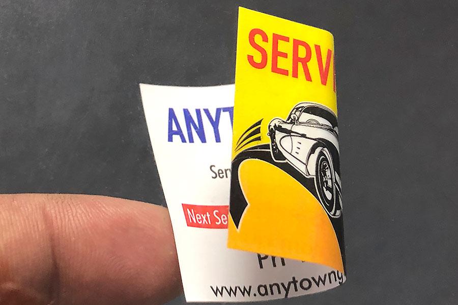 双面标签,不干胶双面标签,双面标签印刷厂家,标签印刷厂家,双面贴纸