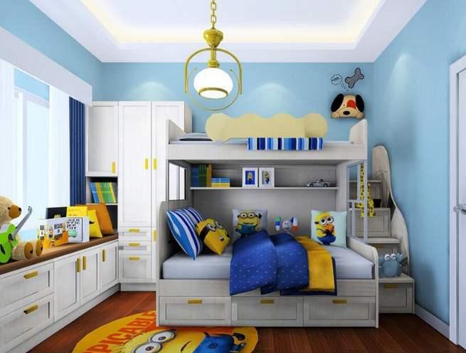 成都软装设计:精装房软装中儿童房衣柜定制设计需要注意的几点