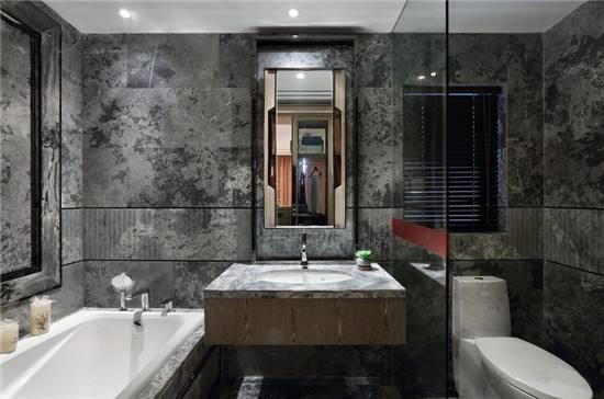 成都软装公司:大平层室内软装中卫浴间的注意事项