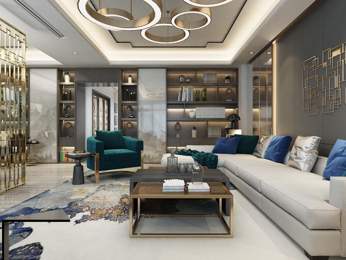 成都软装公司推荐:别墅软装中色彩的应用技巧
