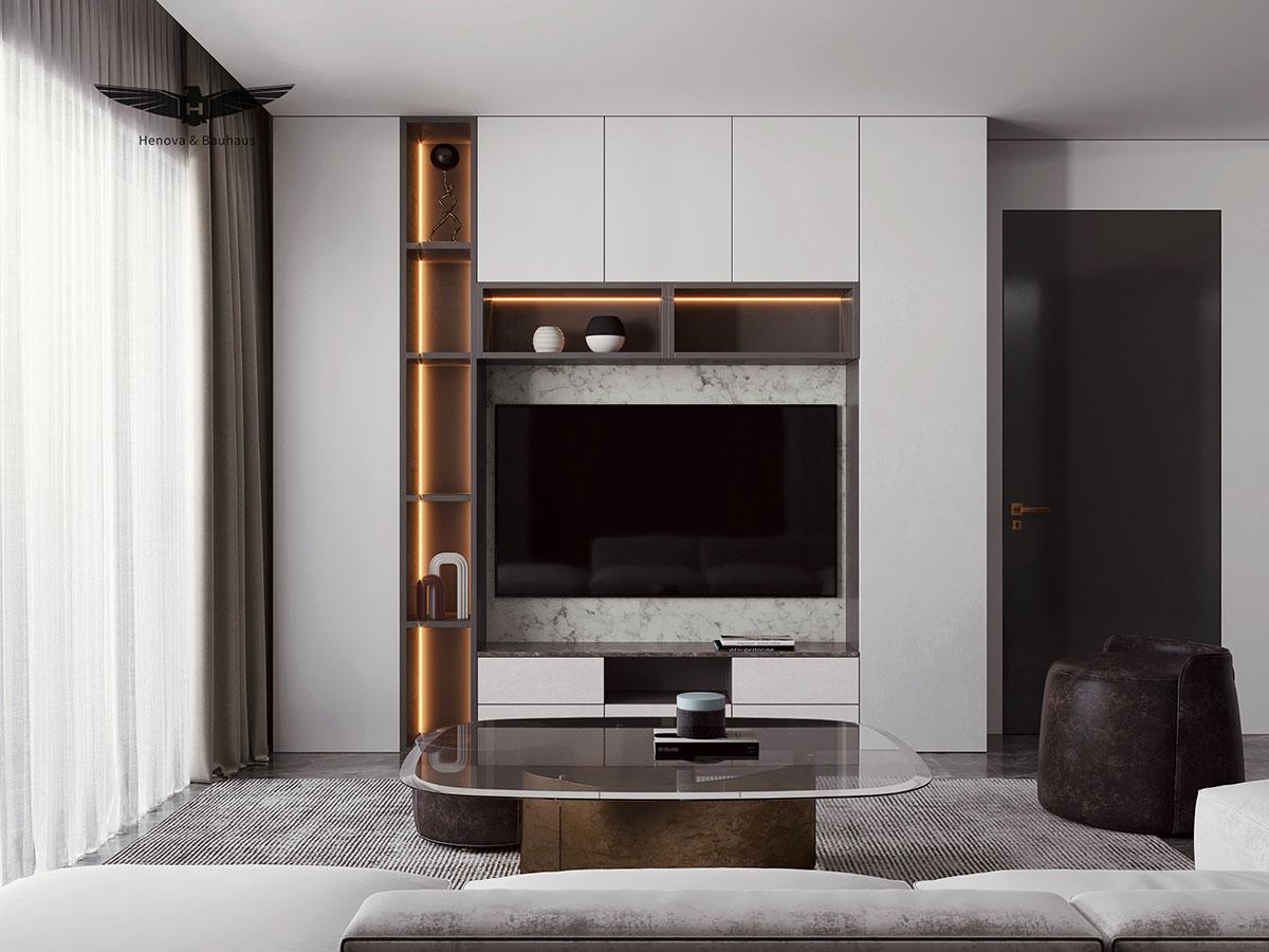 成都软装公司推荐:样板间软装中电视柜的选择问题