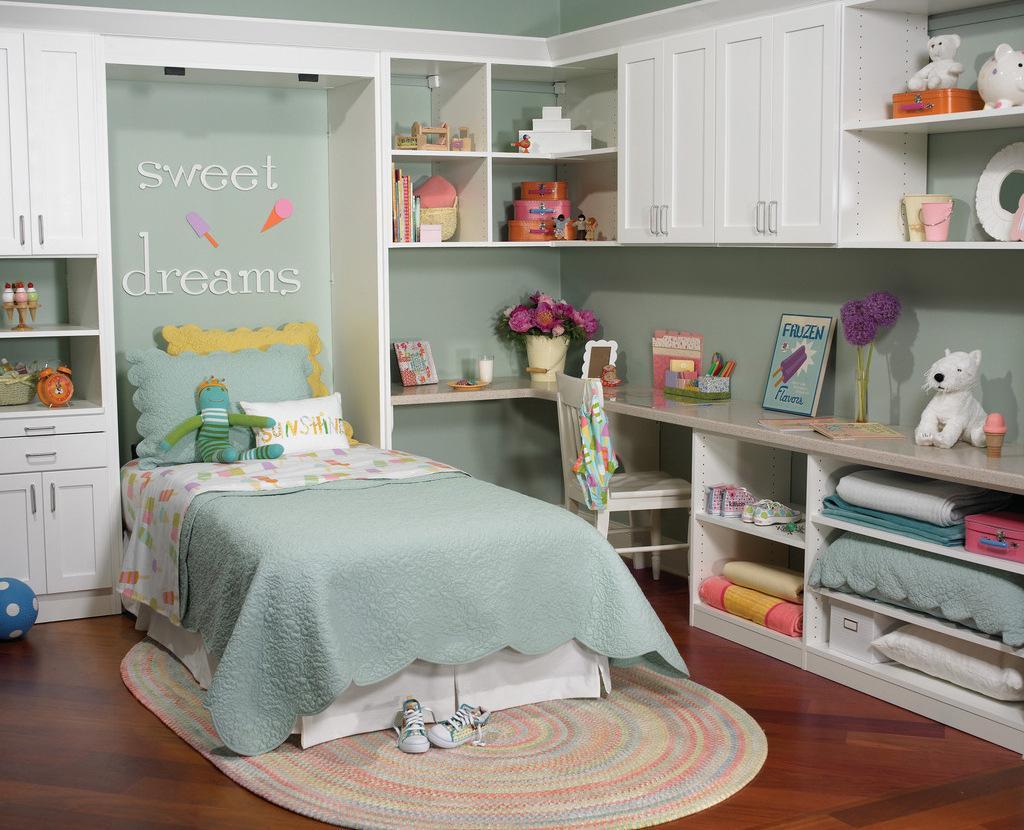 样板间软装中儿童房的软装技巧及注意事项