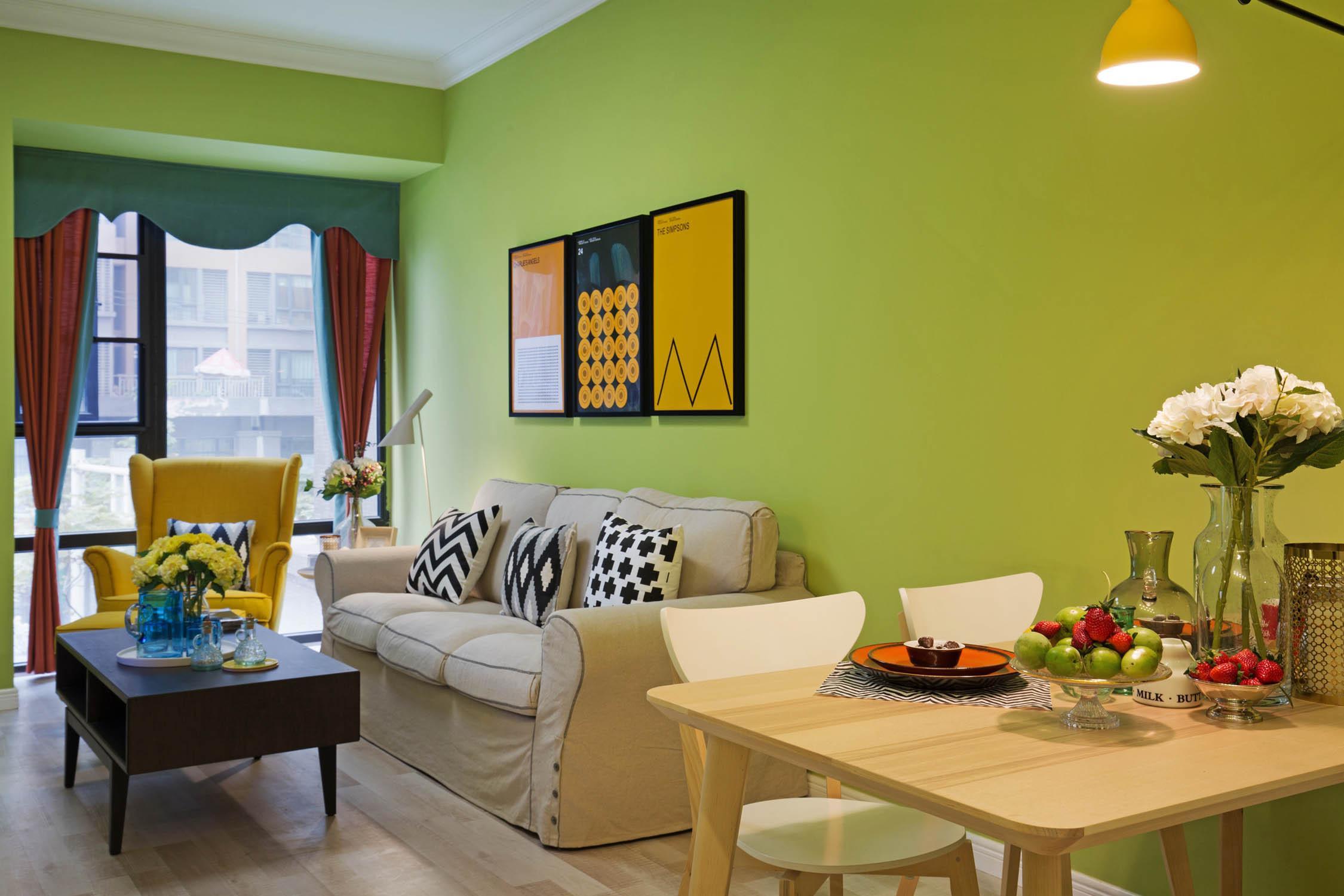 成都软装公司推荐精装房软装中的4组色彩搭配