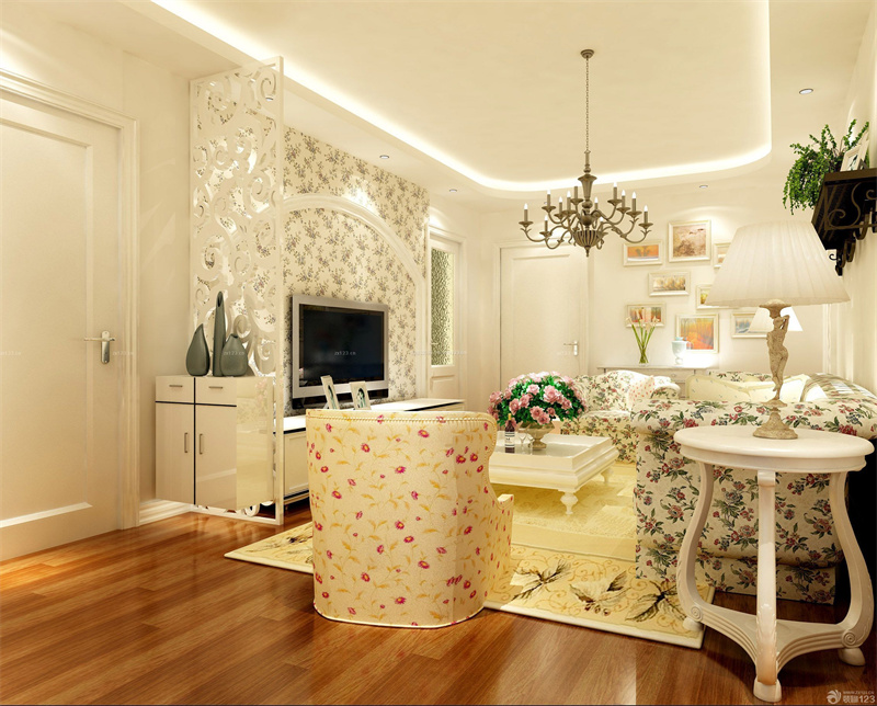 现代乡村客厅软装设计风格秘诀