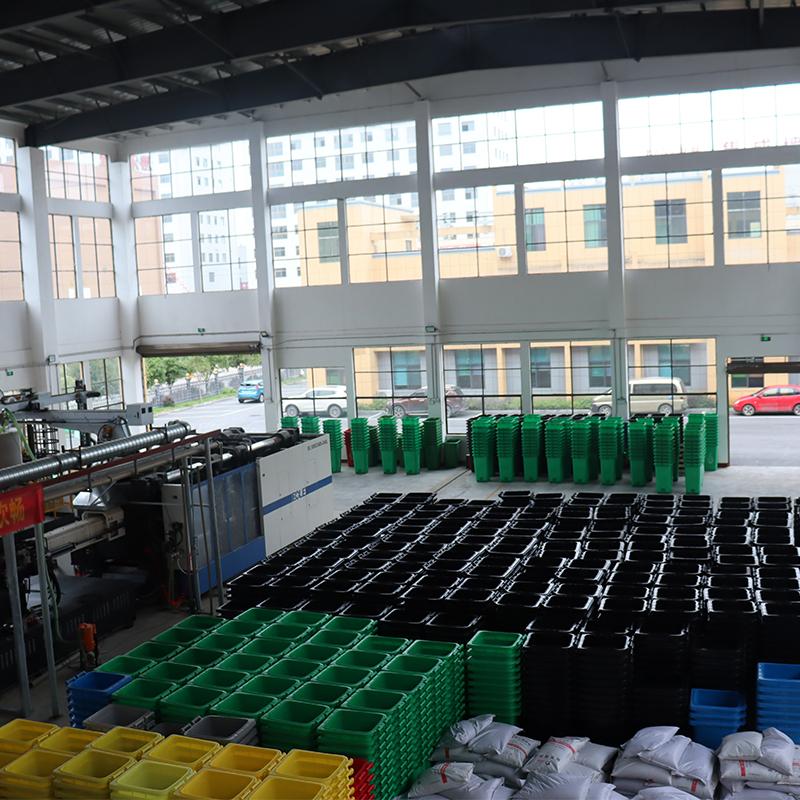 塑料环卫垃圾桶