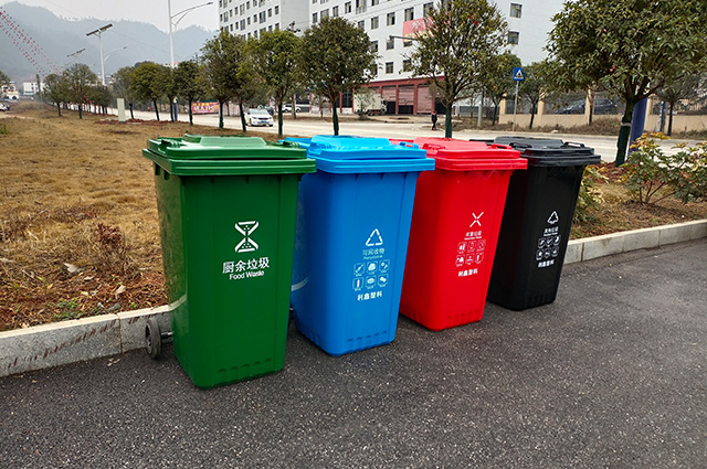240L环卫垃圾桶图片