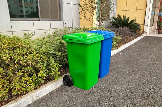 100L环卫垃圾桶价格