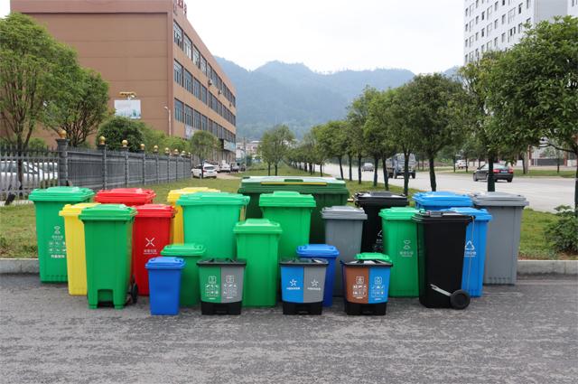 环卫分类垃圾桶图片