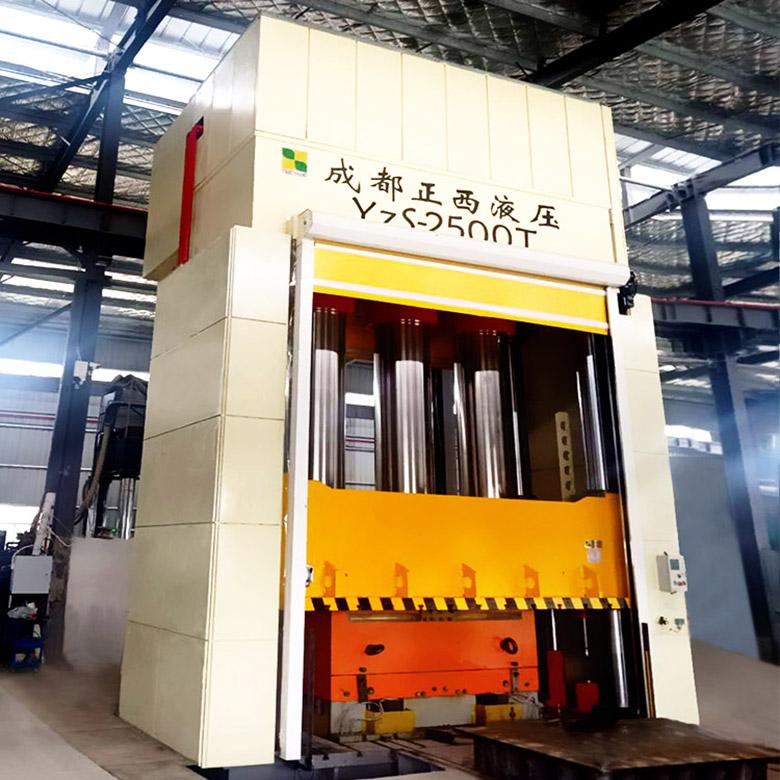 2500吨框架式复合材料液压机