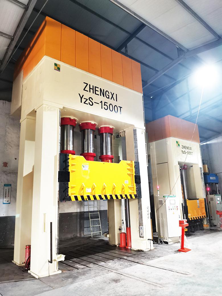 1500吨框架复合材料液压机
