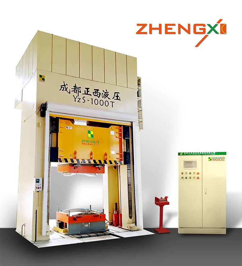 1000吨框架复合材料液压机
