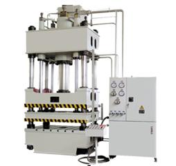 四柱液压机常见故障及维修方法
